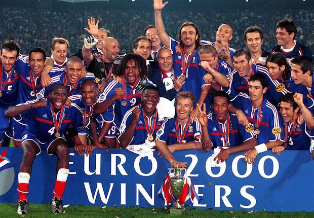 Les Bleus sont champions d'Europe de football pour la deuxième fois de leur histoire