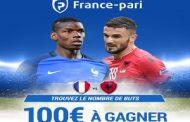 Concours de pronostic en partenariat avec France-pari.fr : Trouvez le score exact de France/Albanie