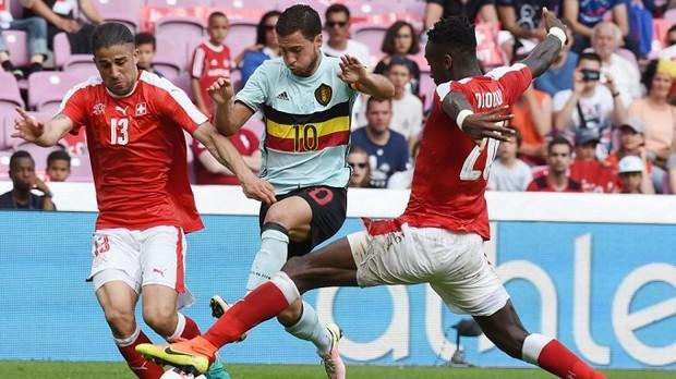 Eden Hazard n'a pas été décisif lors de la victoire de la Belgique contre le Suisse
