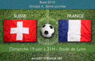 Meilleures cotes et pronostic de Suisse-France dans le groupe A de l'Euro 2016, le 19 juin au stade Pierre Mauroy de Lille