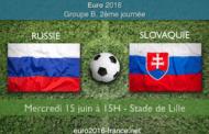 Les meilleures cotes et notre pronostic pour Russie-Slovaquie - 2e journée du Groupe B de l'Euro 2016