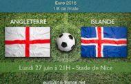 Huitièmes de finale de l'Euro 2016 : notre pronostic et les meilleures cotes d'Angleterre-Islande, le 27 juin à Nice