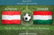 Meilleures cotes et pronostic du match Autriche-Hongrie dans le groupe F : coup d'envoi le 14 juin à 18h