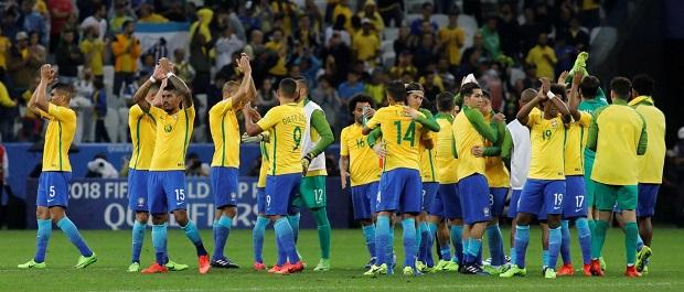Le Brésil est premier au classement FIFA/Coca-Cola