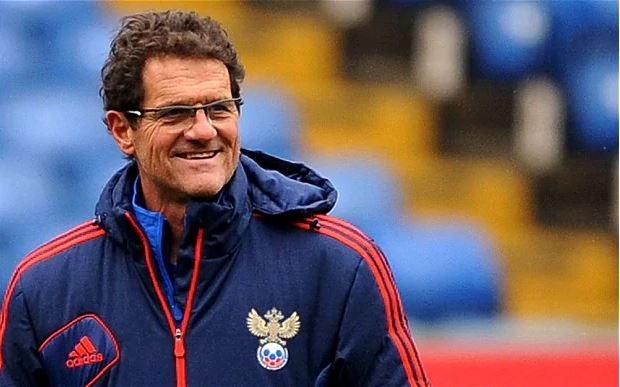 Fabio Capello, ultime entraîneur étranger de la Russie