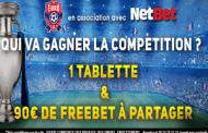 Concours de pronostic gratuit en partenariat avec NetBet : Qui sera le vainqueur de l'Euro 2016?