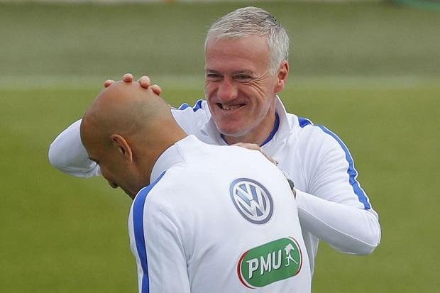 Guy Stéphan est l'adjoint de Didier Deschamps à la tête de l'équipe de France