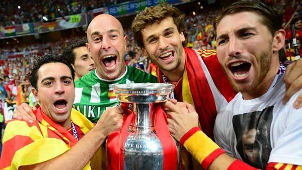 victoire espagne euro 2012 doublé