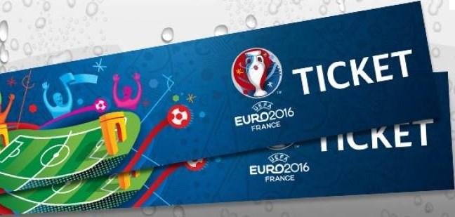 Les Billets de l'Euro 2016