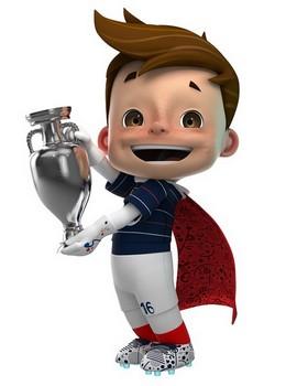 Super Victor : mascotte Euro 2016
