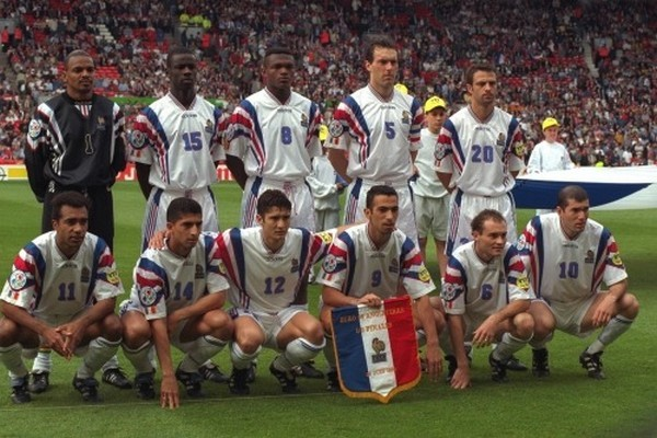 Équipe de France Euro 1996