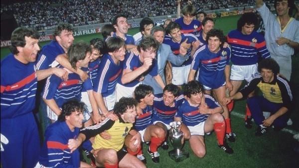 équipe de France vainqueur euro 1984