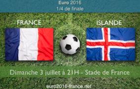 Notre pronostic pour France-Islande, quart de finale de l'Euro 2016 le 3 juillet au stade de France