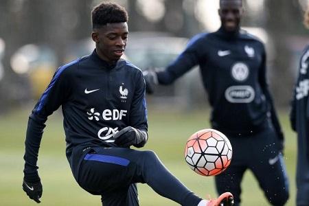 Ousmane Dembélé pourrait faire son apparition sous le maillot de l'équipe de France