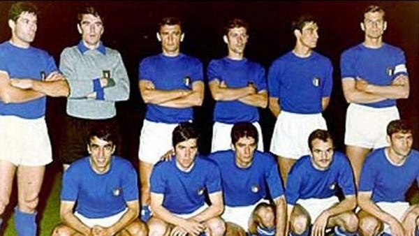 italie championne d'europe 1968