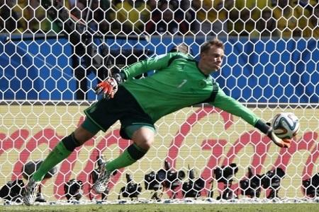 Le gardien de l'Mannschaft à l'Euro, Manuel Neuer