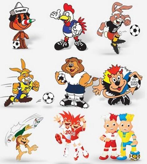 Euro de football : les mascottes