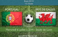 Meilleures cotes et pronostic du match Portugal-Pays de Galles, demi-finale de l'Euro 2016 - le 06 juillet à 21h à Lyon