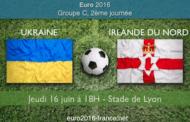 Cotes et pronostic de Ukraine-Irlande du Nord, en 2ème journée du groupe C de l'Euro 2016 le 16 juin 18H à Lyon