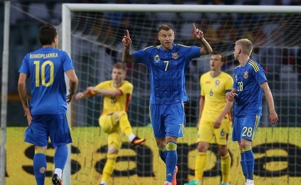 Yarmolenko a participé au festival offensif de l'Ukraine contre la Roumanie