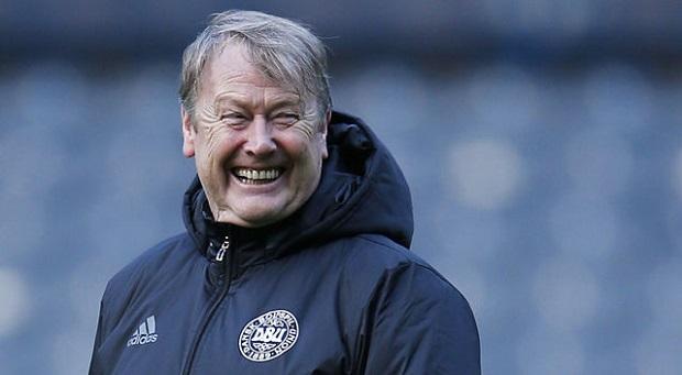 L'entraîneur du Danemark Are Hareide