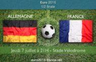 Meilleures cotes et pronostic de France-Allemagne, demi-finale de l'Euro 2016 le 7 juillet au stade Vélodrome