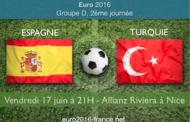 Meilleures cotes et pronostic du match Espagne-Turquie dans le groupe D : coup d'envoi le 17 juin à 21h