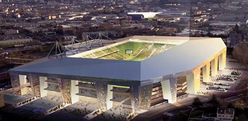 Le nouveau stade Geoffroy Guichard
