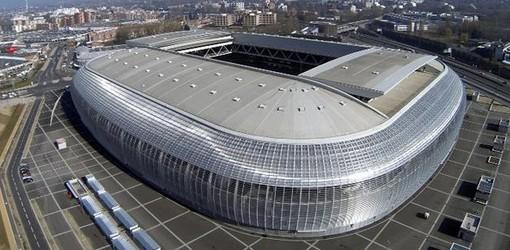 Le stade de l'Euro Pierre Mauroy de Lille