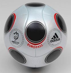 Europass, le ballon de l'Euro 2008
