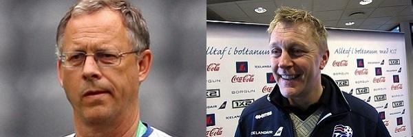 Lars Lagerbäck & Heimir Hallgrimsson