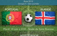 Pronostic du match Portugal-Islande et les meilleurs cotes : 1ère journée du groupe F de l'Euro 2016