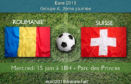 Meilleures cotes et pronostic du match Roumanie-Suisse, deuxième journée du groupe A de l'Euro 2016