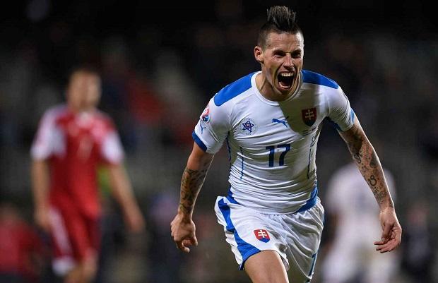 La Slovaquie de Marek Hamsik a largement bénéficié du passage de 16 à 24 équipes