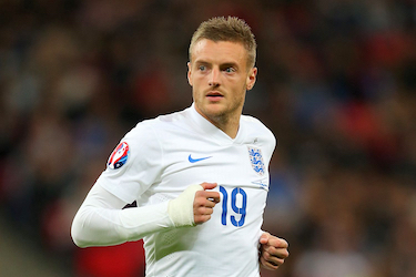 Jamie Vardy, l'attaquant star de Leicester