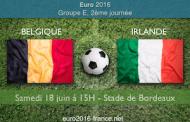 Pronostic pour le match Belgique-Irlande, décisif dans la course à la qualification du Groupe E de l'Euro 2016