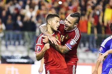 Hazard et Nainggolan, symboles de la génération dorée belge