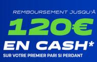 Bonus Parions Sport / ParionsWeb : 120€ de paris sportifs offerts en ouvrant votre compte FDJ