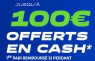 Bonus Parions Sport / ParionsWeb : 100€ de paris sportifs offerts en ouvrant votre compte FDJ