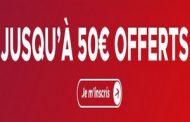 Bonus Betclic sport : 50€ offerts sur votre 1er pari sportif avec le code promo Betclic