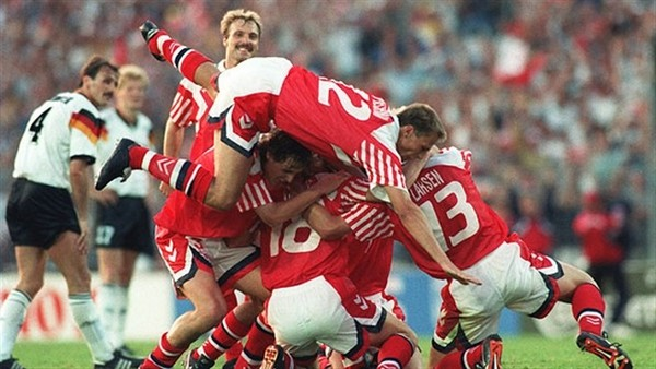 danemark champion d'Europe euro 92