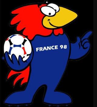 La mascotte de France 98 Footix