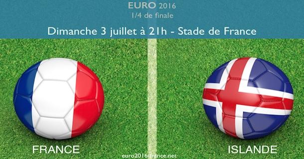 Analyse du match entre la France et l'Islande