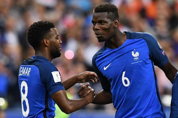 Pogba et Lemar auront un rôle à jouer contre l'Italie