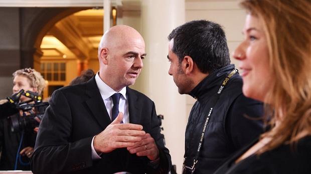 Gianni Infantino, le nouveau président de l'UEFA
