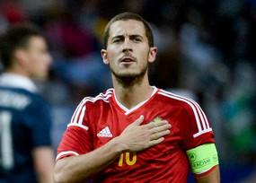 Eden Hazard belgique euro 2016