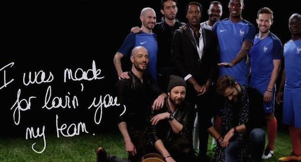 Skip The Use signe l'hymne de l'Equipe de France pour l'Euro 2016