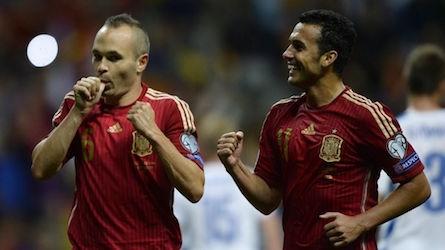 Pedro et Inesta, dépositaires du jeu espagnol