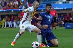 iniesta espagne foot euro 2016