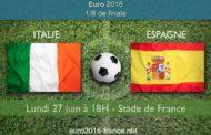 Meilleures cotes et pronostic du match Italie-Espagne, huitièmes de finale de l'Euro 2016, le 27 juin au stade de France